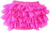 Wennikids Ruffled Lace Baby Diaper Bloomer Covers For 0-24M Medium