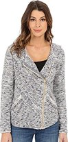 Lucky Brand Women's Fringe Sweater Jacket