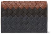 Bottega Veneta Dégradé Intrecciato Leather Bifold Cardholder - Gray