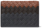 Bottega Veneta Dégradé Intrecciato Leather Bifold Cardholder