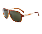 Calvin Klein Havana & Green Sunglasses - Unisex