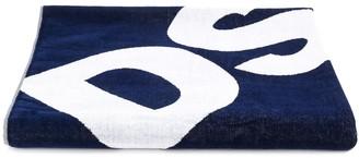 DSQUARED2 logo print towel