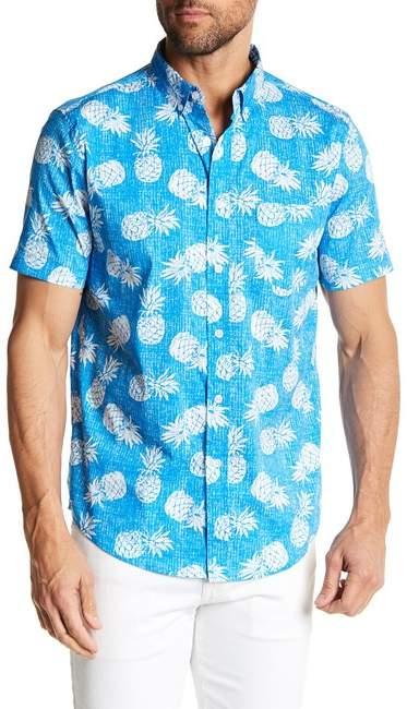Trunks Tropical Charm Pineapple Short Sleeve Shirt