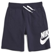 Nike Boy's Alumni French Terry Knit Shorts