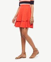 Ann Taylor Tiered Full Skirt