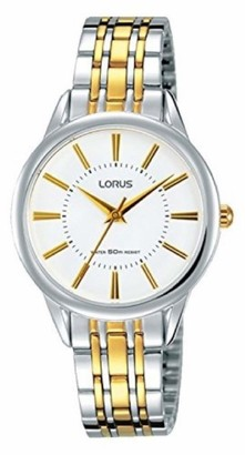 Lorus Women's Analogue Quartz Watch with Gold Plated Strap RG203NX9