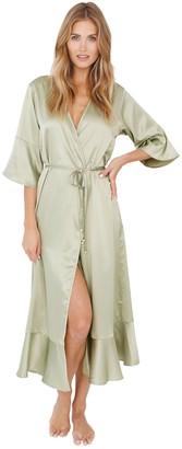 Plum Pretty Sugar Long Femme Robe