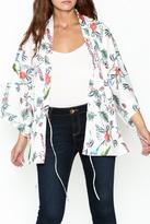 settle down Floral Kimono