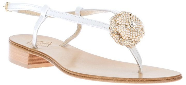 Emanuela Caruso strappy flat sandal
