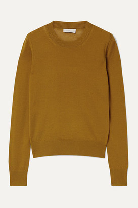Rosetta Getty Wool-blend Sweater - Saffron