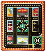 Melissa & Doug Round The City Rescue Rug & Vehicle Set