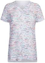 Lucas Hugh Glitch Mesh T-Shirt