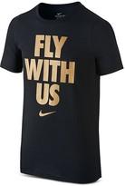 Nike Boys' Fly with Us Tee - Big Kid