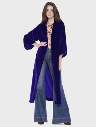 Alice + Olivia Lynn Long Kimono With Silts