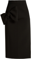 Roksanda Maida bow-detail midi skirt