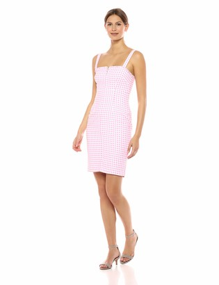 LIKELY Women's Keeley Gingham Printed Party Dress
