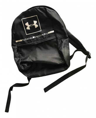 Under Armour Black Polyester Backpacks