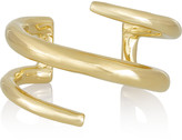 Jennifer Fisher Large Twisted Cylinder gold-plated cuff