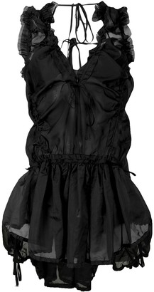 DSQUARED2 Eileen ruched blouse