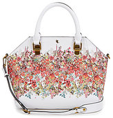 Elliott Lucca Faro City Floral Satchel