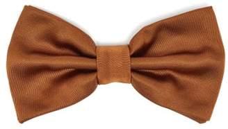 Dolce & Gabbana Silk Twill Bow Tie - Mens - Brown