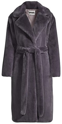 Apparis Mona Faux Fur Robe
