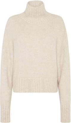 ST. AGNI Gael Oversized Alpaca-Blend Turtleneck Sweater