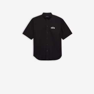 Balenciaga Crew Large Fit Short Sleeve Shirt