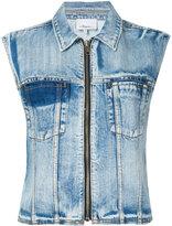 3.1 Phillip Lim Denim vest - women - Cotton - 2
