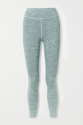 The Upside Ocean Space-dyed Stretch Leggings - Blue