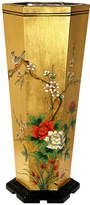 Asstd National Brand Oriental Furniture Gold Leaf Umbrella Stand