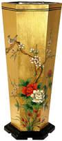 Asstd National Brand Oriental Furniture Gold Leaf Umbrella Stand
