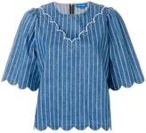 MiH Jeans pinstripe blouse