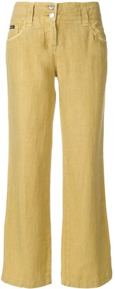 Dolce & Gabbana Pre-Owned bootcut cropped trousers