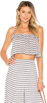 Rachel Pally Crop Spaghetti Tie Top
