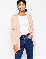 Asos Relaxed Waterfall Jacket
