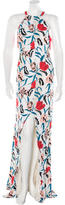 Thakoon Printed Sleeveless Dress