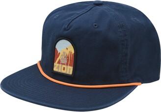 Wyeth x See America Zion National Park Flat Brim Baseball Cap