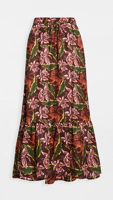 Scotch & Soda Printed Maxi Skirt