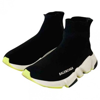 Balenciaga Speed Black Polyester Trainers