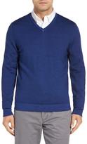 John W. Nordstrom Wool V Neck Sweater