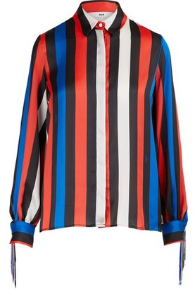 MSGM Shirt with fringes
