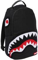 Sprayground Ghost Chenille Shark Canvas Backpack