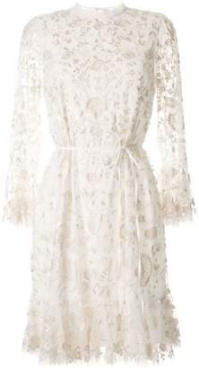 Needle & Thread Embellished Long Sleeve Dress