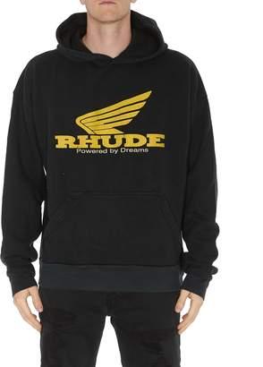 Rhude Yellow Rhonda Hoodie