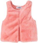Sonia Rykiel Enfant Faux Fur Vest (Toddler/Kid) - Pink-4