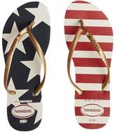 Havaianas Slim Stars and Stripes Sandal