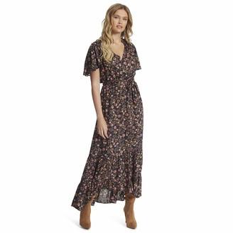 Jessica Simpson Women's Lynne SS Midi Dress