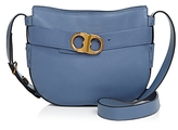 Tory Burch Gemini Belted Small Leather Hobo