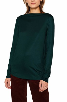 Esprit Women's 109eo1k009 Long Sleeve Top